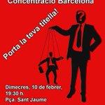 ¡Están en prisión por una obra de ficción! #LibertadDeExpresión #LibertadTirititeros BCN 10F 19.30h Pça Sant Jaume https://t.co/hyxPvFZT62