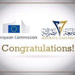 حصول جامعة مصراتة على اعتماد رسمي كثاني جامعة ليبية معتمدة من مفوضية الاتحاد الأوروبي للخدمات الاعتمادية #ليبيا https://t.co/1tPkYaIYUE
