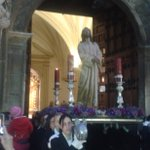 Jesus Preso sale de San Ildefonso camino de la Catedral para presidir la misa de inicio de Cuaresma#cuaresmajaen2016 https://t.co/2KwRY9TaLd