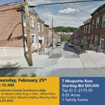 7 Moquette Row #Yonkers is up for public auction on Feb. 25 at 11:15 am at the County Courthouse https://t.co/iauJbyZ9BF