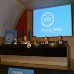 Junta Directiva del PP Cáceres con León, Monago y Martínez Maíllo. https://t.co/vufsyB7d1s