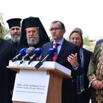 A truly inspiring mtg w/ leaders of all faiths in #Cyprus, united 4 peace & reunification. An example for the world. https://t.co/nDtI0bCPqD