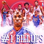 Tonight in Detroit, Mr. BIG SHOT Chauncey Billups @DetroitPistons #1 goes to the rafters! https://t.co/LkTGQXRVwf