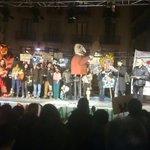 A la Pl. Sant Jaume solidaritat amb els titellaires represaliats a Madrid #LibertadTitiriteros https://t.co/s5LR7qRIJh