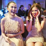 A Super candid shot of two of the biggest stars in the country @mainedcm & ms. Marian #VoteMaineFPP #KCA ctto https://t.co/ZJvaJwslTu