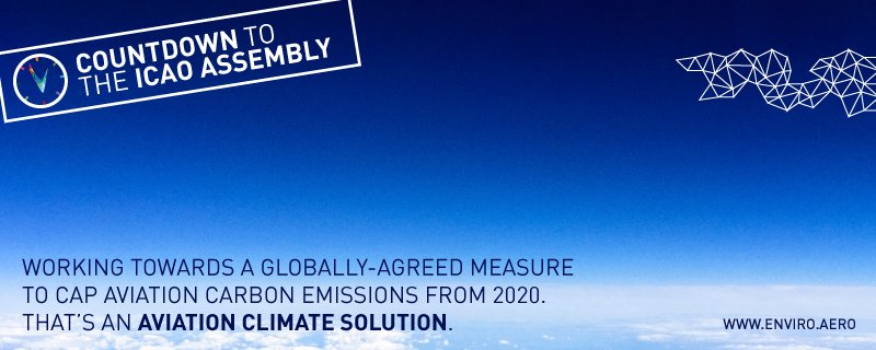RT @enviroaero: There's been positive reactions around the world to the new @icao CO2 Standard. ecofly https://t.c…