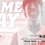 Its GAME DAY!  #TexasTech vs. #14 Iowa State at 8pm Get your $8 seats now: https://t.co/SoxojIXnhj #WreckEm https://t.co/FrfKvoQp5z