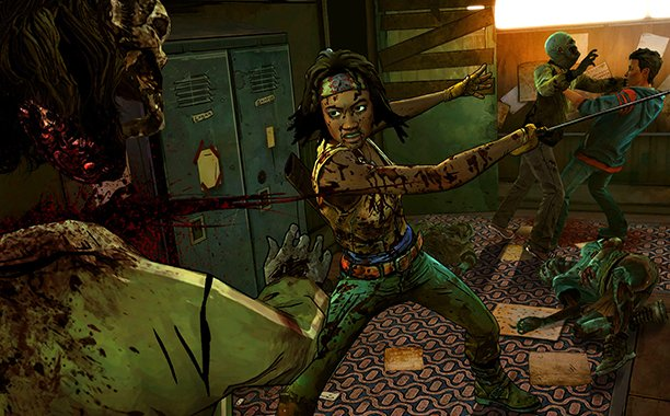 .@telltalegames' #TheWalkingDead Michonne series with @samirawiley now has a release date: https://t.co/2PvfcSaed8 https://t.co/CbLqPttk32