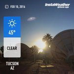 About to head out? Heres your Tucson temp (as of 7:45 AM). #azwx #KVOAwx https://t.co/wmdDX7nBn7