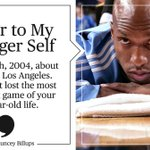 Before the Pistons retire his #, Chauncey Billups pens an epic letter to his younger self. https://t.co/VIto1a1cFT https://t.co/fBH5iclXst