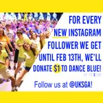 @uksga is donating $1 to #DB16 for every new follower they receive on Instagram until February 13! #FTK https://t.co/b7URUP0Afk