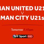 Manchesters fierce rivals go head-to-head in the #BU21PL at Leigh Sports Village as @ManUtd host @MCFC! ????⚽️???? https://t.co/5rFiRi3j6s