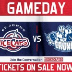 GAMEDAY. Rematch. #IceCaps vs. @SyracuseCrunch. Tonight. Be there.  #GoIceCapsGo https://t.co/A8fyjs2ifw