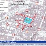 Verkehrsmaßnahmen wegen der 52. Münchner Sicherheitskonferenz: https://t.co/N4xXVGmVPO  #MSC2016  @MunSecConf https://t.co/QhXgjdvp3x