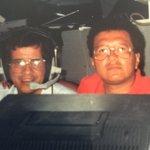 Hoy 16 años de tu partida. Compañero, amigo y maestro PEPE MURILLO. Un relator picante. Único. (Foto Italia 90) QEPD https://t.co/h1azNrLUuP