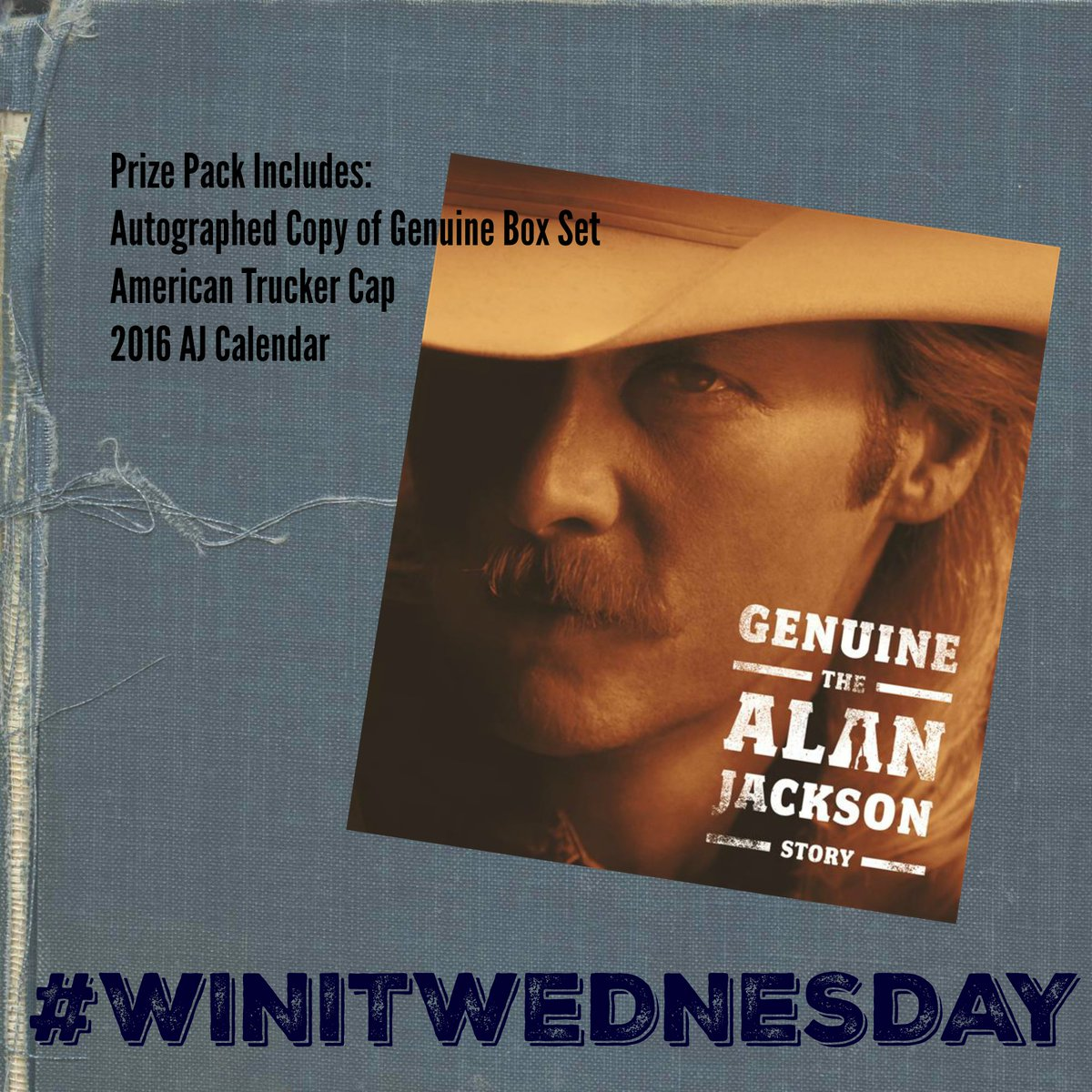 It's #winitwednesday and we've got a nice prize pack for you!! RT for your chance to WIN IT! #GenuineAJ https://t.co/zOtMS3wRwd