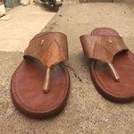 A teenager boy from Yakasai kano city made this sandal @benmurraybruce @BabangidaRuma #BuyNaijaToGrowTheNaira https://t.co/xnI2NyvNEp