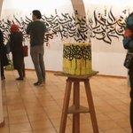 معرض(تخريب)لفنان القرافيتي؛ أيمن الجهاني بدار الفنون #photographerHibo#art #تصويري #artgallery #طرابلس #Tripoli https://t.co/f85Yuk6DSj