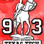 Happy 93rd Birthday, @TexasTech ! You continue to make your alumni proud. https://t.co/2O6F4mDq2i