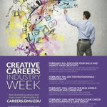Creative Careers Industry Week is in full swing! Lots of great events happening today @gmusoa @MasonCareer https://t.co/fNkwj5go3F
