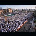 صلاة العيد ميدان الشهداء طرابلس #فانز_سهيله_بضيافه_ليبيا https://t.co/OofLjtJKFE