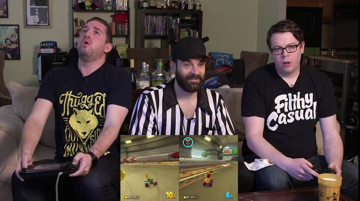 """I've made a huge mistake"" this was the best thing ever @KindaFunnyVids @TimGettys @GameOverGreggy @Nick_Scarpino https://t.co/1spEbeheA1"
