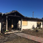 House believed to be intentionally set on fire last night by occupant now boarded up and condemned. @KVOA https://t.co/BayOcBLoDu