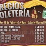 #vamosxlasegunda ATENCIÓN: 28.214 entradas podrán adquirir para el juego Vs @nacionaloficial #vamosalestadio https://t.co/lgwtpRW5es