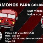 Acompáñanos este viernes en la ciudad de Colón a ver jugar a SportingSM frente a Árabe Unido. https://t.co/qT9zPOIJk3