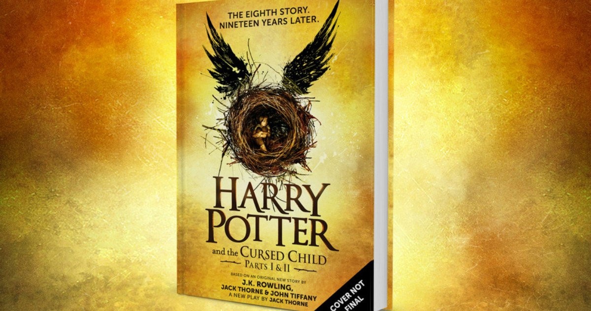 'Harry Potter and the Cursed Child' Script Book Announced https://t.co/IR0pUXPYb6 https://t.co/JBDOIDNpcJ