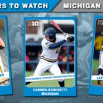 For @umichbaseball, Brett Adcock, Carmen Benedetti and Evan Hill make the Players To Watch List. https://t.co/SmnYPxTQB6