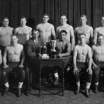 Set to host members of our 1956 Big Ten championship squad at Fridays dual. Celebrating 60th anniversary #GoBlue https://t.co/CyfsfBWyyS