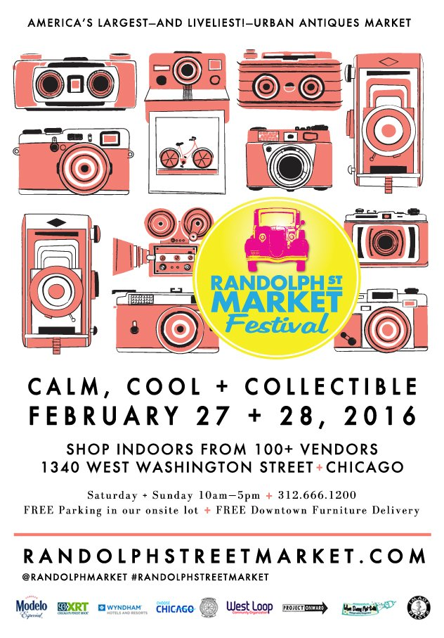 Calm, Cool & Collectible #February 27+28 @randolphmarket @ChooseChicago @TheBestLoop @TLTChi #Chicagoshopping https://t.co/72XI1rsEQo