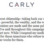 BREAKING: Carly Fiorina suspends presidential campaign. https://t.co/LGPMR1S6Ie
