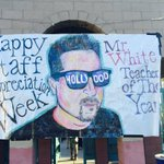 If you see Mr. White, congratulate him on being Santiagos Teacher of the Year!!#todayatshs #cnusd #teacheroftheyear https://t.co/atm9MUpSpu