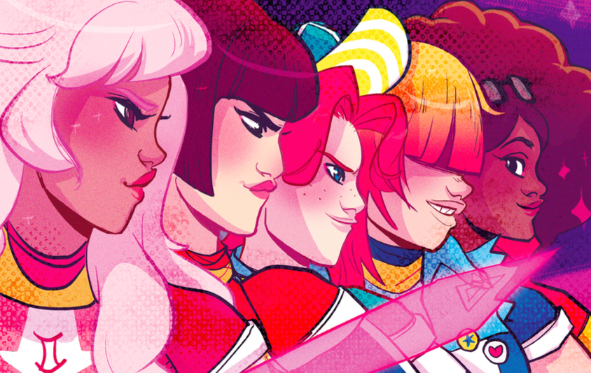Final issue of @ZodiacStarforce is out today! Pick up the entire series for a magical read. https://t.co/cknsdBa0m7 https://t.co/N8qbNu5Rww