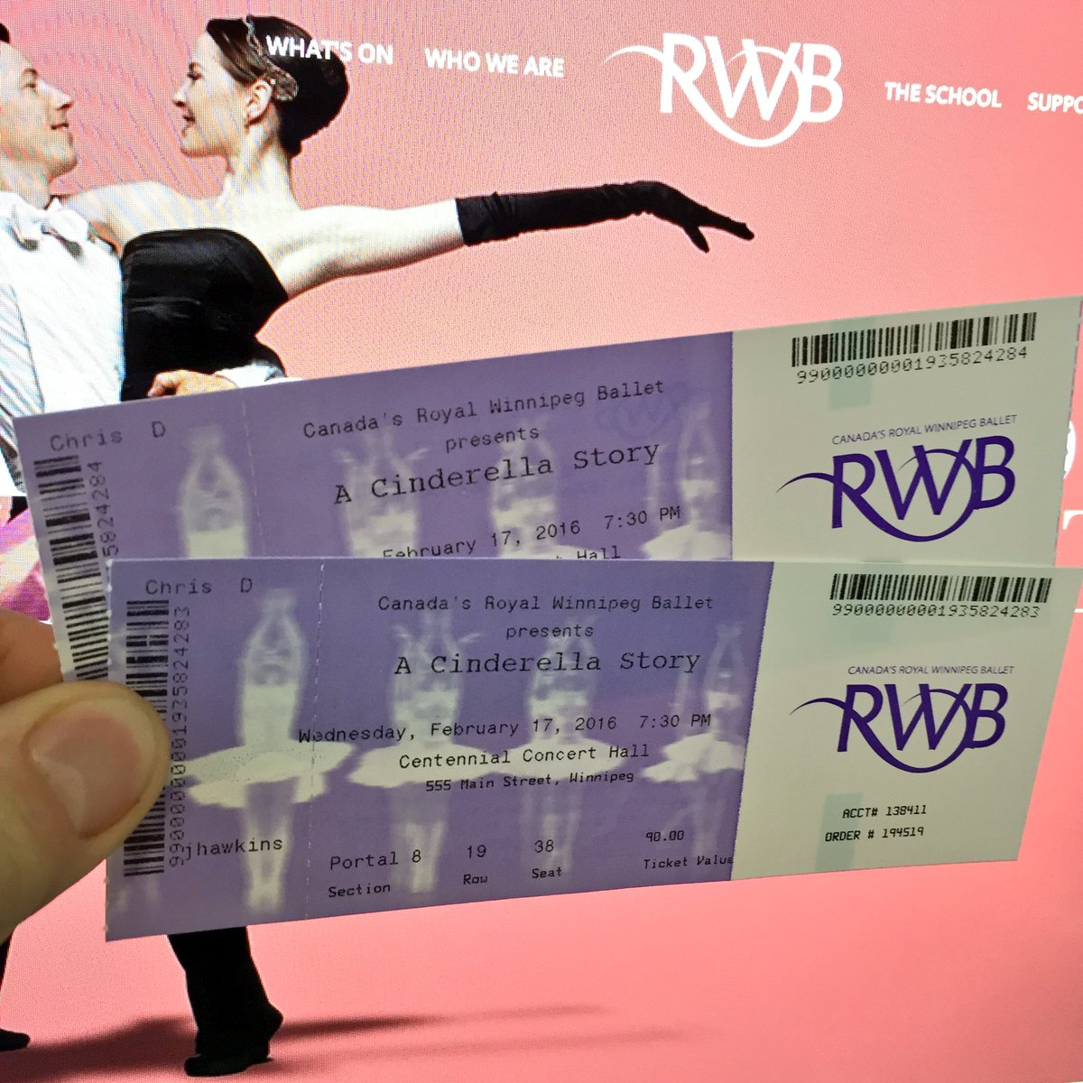 Who wants 2 tickets to @RWBallet's Cinderella Story on Feb. 17? Will pick a winner tomorrow after 4:30. RT to enter! https://t.co/zFasAIDJnf