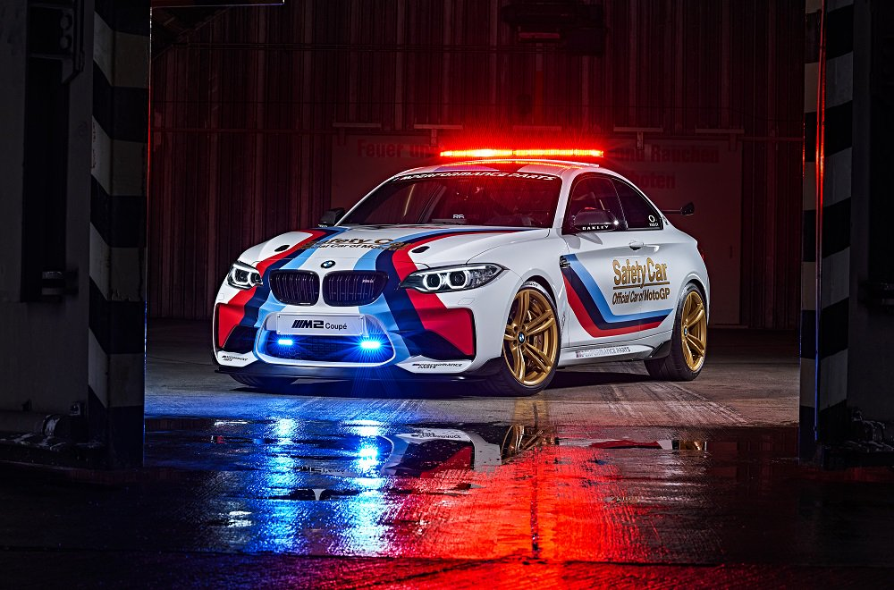 Con vosotros el nuevo BMW M2 MotoGP Safety Car. El Safety Car definitivo. #MPower https://t.co/tzjlGYjIip