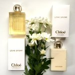Feeling the love! Drawing tomorrow for this elegant #lovestoryEDT duo from Chloe! RT & follow @davelackie to enter! https://t.co/pKsnQNxs2E