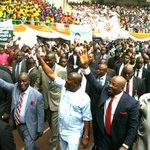 More photos of Governor Wike at the indenominational thanksgiving service held for Governor Udom Emmanuel at Uyo https://t.co/R2ApFDmCTI