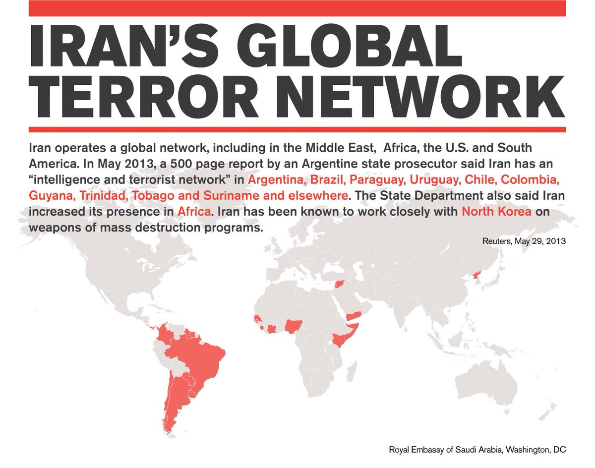 #Iran operates a global terror network, including the Middle East, Africa and Latin America https://t.co/QzDKczdMdb