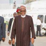 Buhari returns from six-day vacation https://t.co/sBbttBYcg2 https://t.co/v76YmDeQ2G