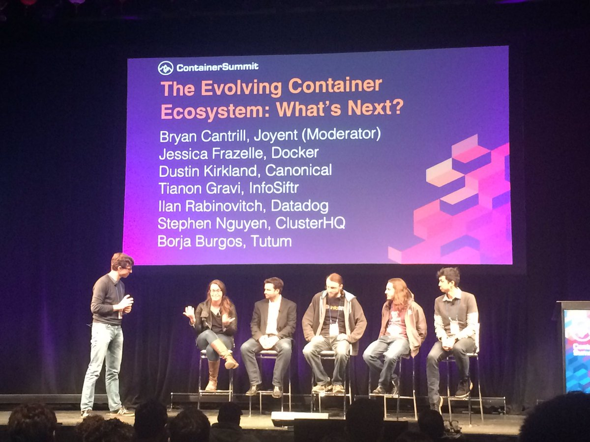Containersummit who is talking about containersummit for Consul docker tutorial