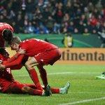 Hallo Halbfinale! BVB, Bremen oder die Hertha - welchen Gegner wünscht ihr euch? In wenigen Minuten wird ausgelost! https://t.co/PjEK5T4XFc