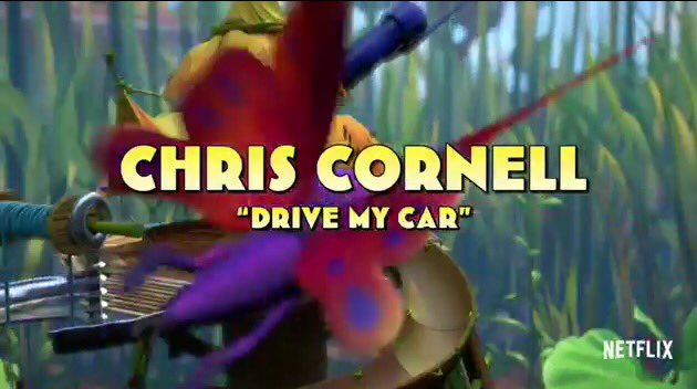 @chriscornell to cover @thebeatles Drive My Car for new Netflix series Beat Bugs, coming in August. https://t.co/Hn4sSkcUEw