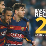 CLUB RECORD: Barcelona are 29 games unbeaten in all competitions, the longest run in the clubs 117-year history. https://t.co/7quFC4Ng8t