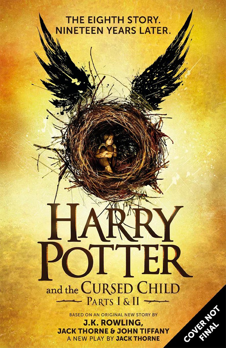 Harry Potter and the Cursed Child Parts I & II is available for pre-order now: https://t.co/uAH6By6wHb https://t.co/M34PhfpuOY