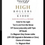 Will you be a High Roller this weekend? #hydeout #watford #hertfordshire #highroller https://t.co/KOkZwldJjS