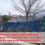 @PSOEdeJAEN pide celeridad al alcalde para garantizar la seguridad de los vecinos en la C/Subida Tiro Nacional https://t.co/kVfW5DdeQw