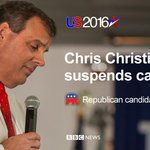 BBCWorld: RT BBCBreaking: New Jersey Governor Chris Christie ends bid for Republican Partys presidential nominati… https://t.co/BjXqM9jqea